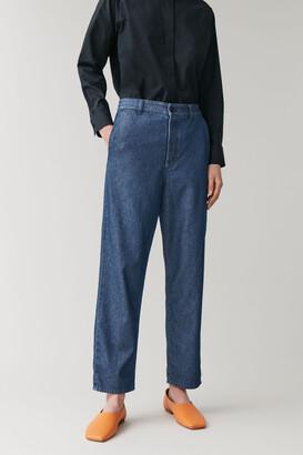 Cos Denim Chino Trousers