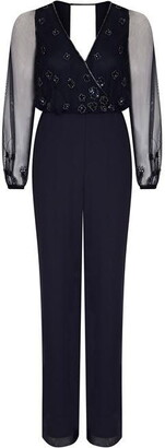 Hailey Logan Open Back Jumpsuit