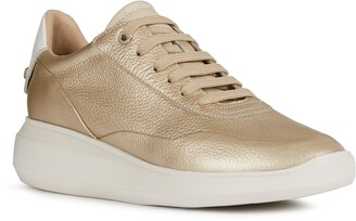 Geox Rubidia Leather Sneaker