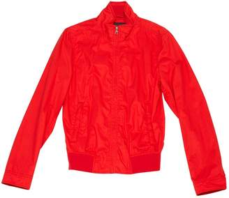 Woolrich Red Cotton Jackets