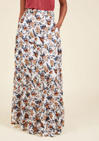 ModCloth Meadow Afterglow Maxi Skirt in M