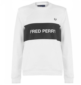 Fred Perry Chest Panel Sweatshirt