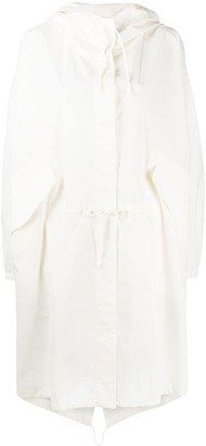 Jil Sander Hooded Rain Coat