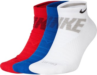 Nike Men's 3-pack Everyday Max Cushioned No-Show Socks