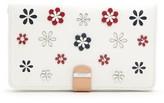 Wolf Blossom Leather Jewelry Portfolio - Ivory