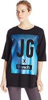 Bench Jess Glynne x Women's KeepLaughing Graphic Print T Shirt