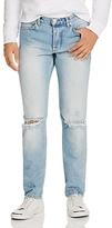 Soulland Erik Destroyed Slim Fit Jeans in Vintage