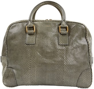 Celine Green Water snake Handbags