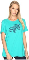 Life is Good Offroad 4X4 Crusher Tee