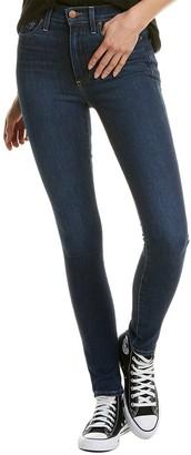 Alice + Olivia Good High-Rise Soho Blues Skinny Leg Jean