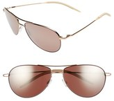 Oliver Peoples Women's 'Benedict' 59Mm Aviator Sunglasses - Pink