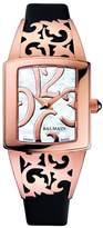 Balmain Women's Elysees Arabesques 27mm Leather Band Quartz Watch B3379.32.85