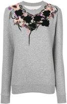 Antonio Marras laced sweatshirt - women - Cotton/Polyester - S