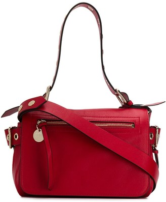 RED Valentino eyelet detail tote