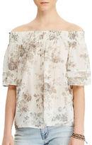 Denim & Supply Ralph Lauren Off-the-Shoulder Floral Blouse