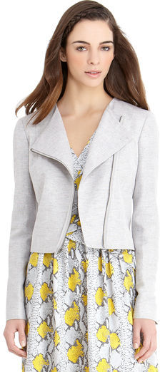 Rachel Roy Linen Lurex Jacket