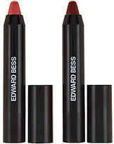Edward Bess Hug & Kiss Lip Loving Color Glide Duo Set