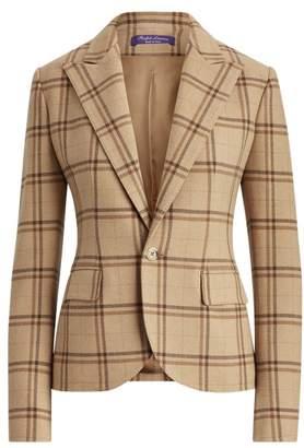 Ralph Lauren Winnifred Plaid Wool Jacket