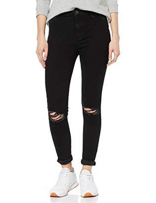 New Look Women's Rip Hallie Disco Skinny Jeans,14 (Manufacturer Size:14L32)