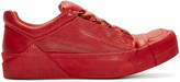 Boris Bidjan Saberi Red Horse Leather Bamba 2 Sneakers