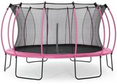 Plum Colours By 14ft Trampoline - Pink / Turquoise