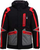 Spyder Alta Ski Jacket Black/polar/herringbone/red