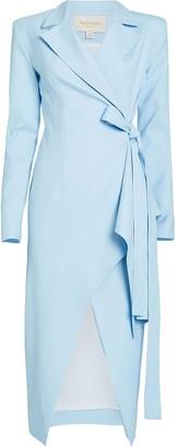 MATÉRIEL Blazer Wrap Dress