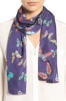 Echo Women's Butterfly Silk Scarf