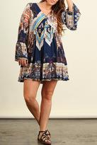 Umgee USA Printed Dress