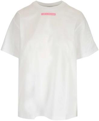 Burberry Slogan Print T-Shirt
