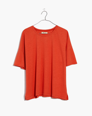 Madewell Raw-Edged Hangout Tee
