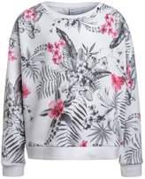 Replay Sweatshirt white/black/red