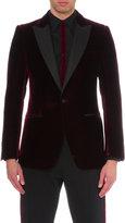 Alexander Mcqueen Contrast-lapel Velvet Jacket