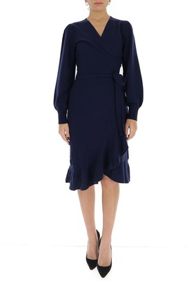 Diane von Furstenberg Kennedy Midi Wrap Dress