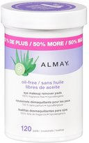 Almay Eye Makeup Remover Pads, 120 ct.
