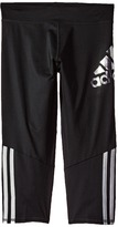 adidas Kids - Super Star Capri Pants Girl's Capri