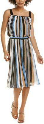 Missoni Abito Silk-Blend Blouson Dress