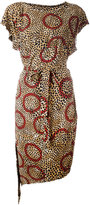 Vivienne Westwood leopard print belted dress - women - Viscose - S