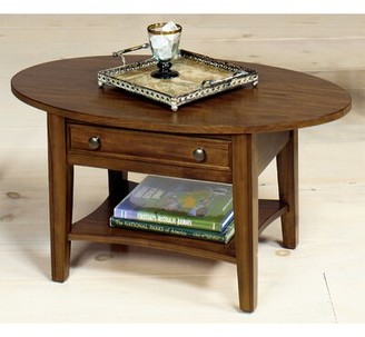 Wildon Home Solid Wood Coffee Table with Storage