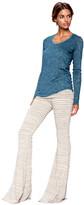 Saint Grace - Moby Stripe Ashby Pant In Cream Stripe