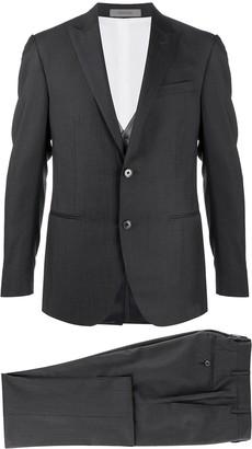 Corneliani Three-Piece Striped Suit