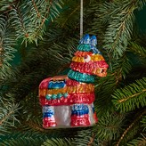 Bloomingdale's Glass Donkey Piñata Ornament - 100% Exclusive
