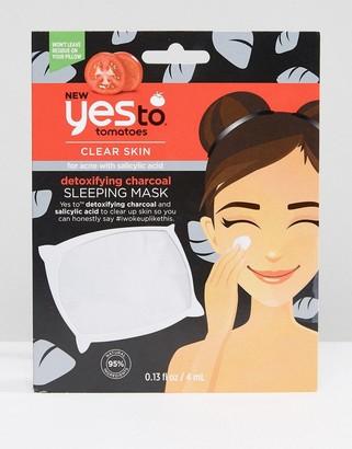 Yes To Tomatoes Charcoal Detoxifying Sleeping Mask