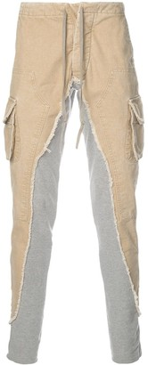 Greg Lauren Twill-Panelled Track Pants