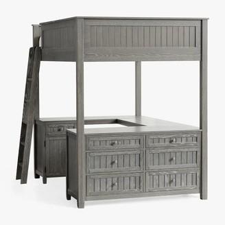 Pottery Barn Teen Beadboard Loft Bed