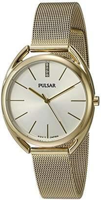 Pulsar Women's 'Jewelry' Quartz -Toned Dress Watch (Model: PG2038)