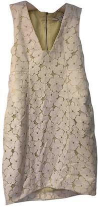 Diane von Furstenberg White Cotton Dresses