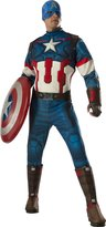 Rubie's Costume Co Costume Men's Avengers 2 Age of Ultron Deluxe Adult Captain America Costume
