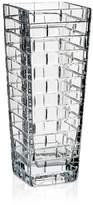 """Rogaska Quoin 12.5"""" Square Vase"""