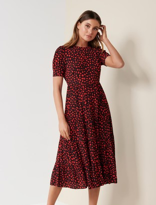 Ever New Betty Printed Midi Dress